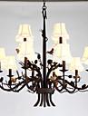 40W Ljuskronor ,  Modern Målning Särdrag for Ministil MetallLiving Room / Bedroom / Dining Room / Sovrum / Matsalsrum / Kök / Badrum /