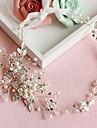 Femei Cristal Aliaj Imitație de Perle Diadema-Nuntă Ocazie specială Cordeluțe 1 Bucată
