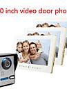 10 tum stor skärm hd 700 video intercom dörrklockan på en villa tre