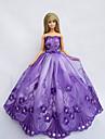 Princesse Robes Pour Poupee Barbie Violet Robes Pour Fille de Doll Toy