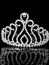 Vrouwen Bergkristal Helm-Bruiloft Speciale gelegenheden Tiara\'s 1 Stuk