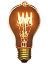 hry® A19 E27 40W glödlampa vintage lampa för hushålls bar kafé hotell (220-240V)