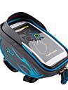 Promend® Sac de Velo 1.5Zip etanche Bande reflechissante Resistant aux Chocs Vestimentaire Multifonctionnel Ecran tactile Reflechissant