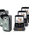 kivos sonnette sans fil maison sonnette trois glisser deux cameras video deverrouillage kdb300