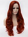 de nya peruk animetecken cosplaya 30 tum volym klassificering i vinet rött hår