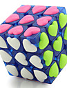 Yongjun® Mjuk hastighetskub 3*3*3 professionell nivå Magiska kuber Svart Blekna Ivory Brun Plast