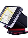 cube magique echafaudage mobile de tourner sur 360 degres pu adsorption antiderapage voiture navigation noir