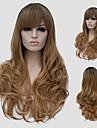cheveux longs micro de volume lin et le vent discotheque rue des performances couleur millions avec une perruque partielle.