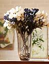 1 1 Une succursale Polyester / Plastique Lis Fleur de Table Fleurs artificielles 25.5*3.14inch/65*8cm