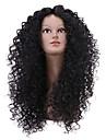 vente chaude noire longue perruque bouclee pour les femmes africaines americaines perruque synthetique boucles afro crepus
