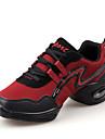 Chaussures de danse(Noir / Rouge / Blanc) -Non Personnalisables-Talon Bas-Similicuir-Baskets de Danse / Moderne