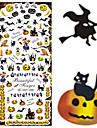 Nail Art Nail Sticker Halvnageltoppar / Helnageltoppar / Vatten Transfer Dekaler / Nagelsmycken