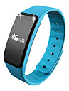 Smart armband Vattenavvisande Brända Kalorier Stegräknare Sport Hjärtfrekvensmonitor Sömnmätare Bärbar Information Meddelandekontroll