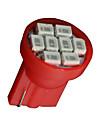 20x t10 rouge W5W 168 192 194 158 906 8-SMD   conduit instrument indicateur de vitesse lumiere