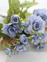 1 Une succursale Polyester Autres Fleur de Table Fleurs artificielles 27CM