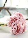 1 Une succursale Polyester Pivoines Fleur de Table Fleurs artificielles 26cm