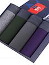 SHINO® Bumbac / Fibră de Carbon de Bambus Chiloți Boxeri Bărbătești 4 / cutie-F005-E