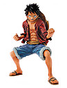 One Piece Monkey D. Luffy 18CM Anime Actionfigurer Modell Leksaker doll Toy