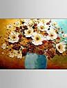 Peint a la main Abstrait / Paysage / Nature morte / Fantaisie / A fleurs/Botanique Peintures a l\'huile,Modern / Pastoral / Style europeen