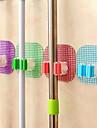puissant balai magique ventouse crochet pince transparente balai serpilliere cremaillere pont de cristal (couleur aleatoire)