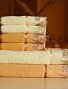 Ensemble de serviette de bain-Broderie- en100% Coton-34*75cm ; 70*140cm