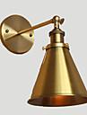 AC 100-240 40 E26/E27 Rustik Gyllene Särdrag for Glödlampa inkluderad,Stämningsljus Vägglampetter vägg~~POS=TRUNC