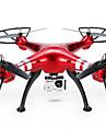 SYMA X8HW Drönare 6 Axel 4 Kanaler 2.4G Radiostyrd quadcopterLED-belysning / Retur Med Enkel Knapptryckning / Auto-Takeoff / Felsäker /