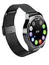 "ordro® b1 plein ecran 1.3 ""ips montre intelligente bande de montre moniteur de frequence cardiaque en acier inoxydable sommeil moniteur"