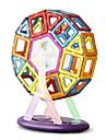 Leksaker Magnetleksaker 64Pcs Executive leksaker Puzzle Cube DIY leksaker magnetiska bollar Regnbåge utbildning leksaker för Gift