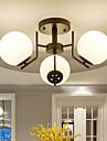 60W Takmonterad ,  Modern / Rustik Målning Särdrag for Ministil Metall Living Room / Bedroom / Dining Room / Kök