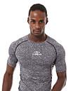 Course Tee-shirt / Shirt Homme Manches courtes Respirable / Sechage rapide / Anti-transpiration / Confortable Nylon / Chinlon Course