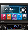 7 inch detașabil 1 din DVD player auto sistem multimedia, GPS anti-furt a stat bluetooth navi ex-tv oglindă link 7 culori buton luminos