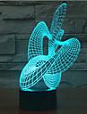 abstrakt beröring ljusreglering 3d ledde nattlampa 7colorful dekoration atmosfär lampa nyhet belysning jul ljus