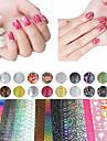 nagel konst nagel Sticker Folie Strippning Tape