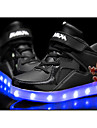 Garcon-Decontracte-Noir Bleu Rouge Blanc-Talon Plat-Light Up Chaussures Confort-Baskets-Polyurethane