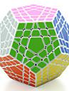 Shengshou® Mjuk hastighetskub Megaminx professionell nivå Lindrar stress Magiska kuber Svart Blekna Ivory Plast