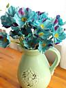10 Une succursale Polyurethane Autres Fleur de Table Fleurs artificielles 32CM