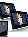 Ennio 7 camera video de intrare telefon interfon ușă 1000tvl camera de supraveghere în aer liber 2pcsindoor monitor