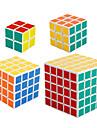 Shengshou® Cube de vitesse lisse 2*2*2 / 3*3*3 / 4*4*4 / 5*5*5 Vitesse / Niveau professionnel Cubes magiques BlancAnti-pop / ressort
