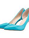 Pantofi pentru femei-Imitație de Piele-Toc Stiletto-Tocuri / Vârf Ascuțit-Tocuri-Birou & Carieră / Casual / Party & Seară-Negru /