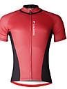 PALADIN® Maillot de Cyclisme Homme Manches courtes VeloRespirable / Sechage rapide / Resistant aux ultraviolets / Doux / Compression /