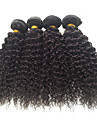 4 Pieces Kinky Curly Tissages de cheveux humains Cheveux Bresiliens Tissages de cheveux humains Kinky Curly