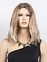billig kort bob syntetiskt hår blont lockigt gradvis förändring syntheitc peruk mörka rot värmebeständiga syntetiska peruker för kvinnor