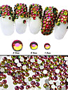 500pcs Nail Art Decoration strass Perles Maquillage cosmetique Nail Art Design