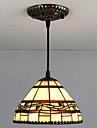 Lampe suspendue ,  Tiffany Retro Peintures Fonctionnalite for Style mini Metal Chambre a coucher Entree