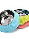 Chat / Chien Bols & Bouteilles d\'eau Animaux de Compagnie Bols & alimentation Etanche / Portable Vert / Bleu / RosePlastique / Acier