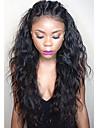 vågiga hela spets människohår peruker för kvinnor 8-30inch brasilianska jungfru håret fullt spetsar peruker människohår peruker