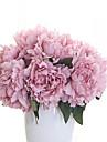 1 Une succursale Polyester Pivoines Fleur de Table Fleurs artificielles 27cm