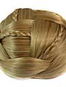 mariage mariee clips updo chignon bun tresses synthetiques extensions de cheveux droites plus de couleurs