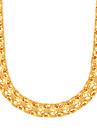 Coliere Lănțișoare Bijuterii Petrecere / Zilnic / Casual La modă Articole de ceramică / Placat Auriu Auriu 1 buc Cadou